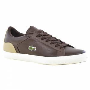 LACOSTE LEROND 418 7-36CAM0050V04 BRW/NAT LEATHER
