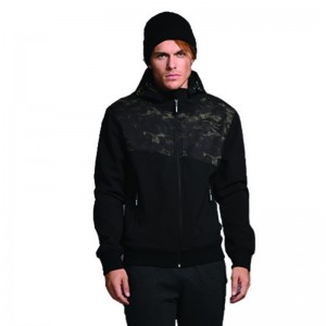 BISTON BOMBER BLACK ΜΕ PRINT CAMO 40-201-047