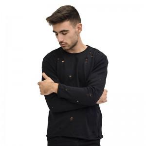 GIANNI LUPPO ΠΛΕΚΤΗ ΜΠΛΟΥΖΑ BLACK GL367S