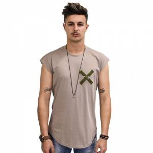 STEFAN FASHION T-SHIRT ΜΠΕΖ 3506
