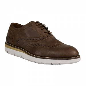 LONDONS LIFE LEATHER OXFORD CAMEL 65475