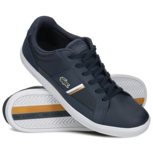 LACOSTE MEN'S EUROPA TRAINERS 319 1 NAVY 7-38SMA0017092