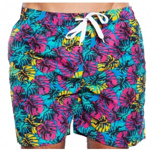 SOUL STAR ΑΝΔΡΙΚΟ ΜΑΓΙΟ ΤΥΡΚΟΥΑΖ  TROPICAL FLORAL SWIMMING SHORTS 33-231-002