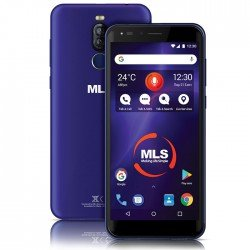 "MLS DX LITE 5.7"" 3G BLUE DUAL SIM"