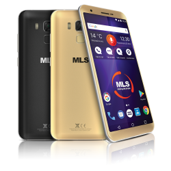 MLS COLOR RANGE 4G GOLD DUAL SIM - MLS