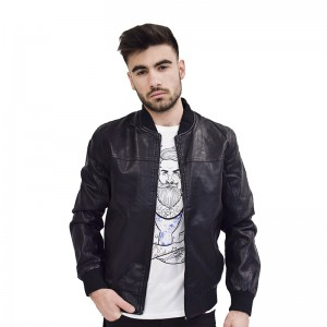 AL FRANCO JACKET BLACK ΔΕΡΜΑΤΙΝΟ 9211D