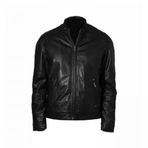 AL FRANCO JACKET BLACK ΔΕΡΜΑΤΙΝΟ