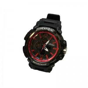 EXPONI WATCH ΡΟΛΟΙ BLACK RED 51261