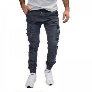 SENIOR ΑΝΔΡΙΚΟ CARGO GREY SLIM FIT SEN-13