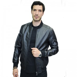 AL FRANCO JACKET BLACK ΔΕΡΜΑΤΙΝΟ 9211