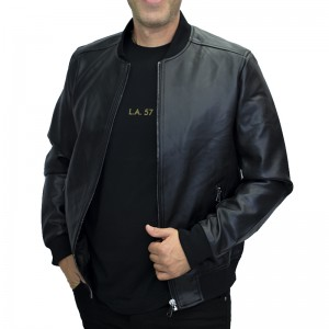 AL FRANCO JACKET BLACK ΔΕΡΜΑΤΙΝΟ AM8807