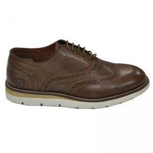 LONDONS LIFE LEATHER OXFORD BROWN 65475