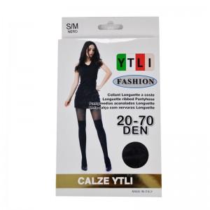 YTLI ΚΑΛΣΟΝ  BLACK 20-70 DEN C0293
