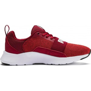 Puma Wired Knit JR 367381-07 ΚΟΚΚΙΝΟ
