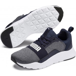 PUMA 367381-08 WIRED KNIT JR