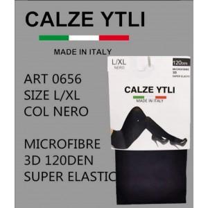 YTLI ΚΑΛΣΟΝ  BLACK 120 DEN 3D 0656