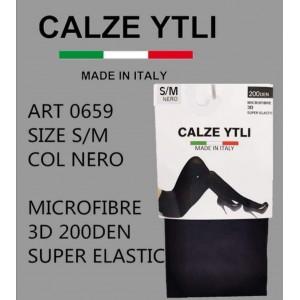 YTLI ΚΑΛΣΟΝ  BLACK 200 DEN 3D 0659