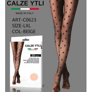 YTLI ΚΑΛΣΟΝ  BEIGE  C0623 L/XL