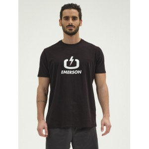 EMERSON T-SHIRT 211.EM.33.01 BLACK