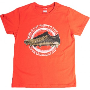 JOYCE ΠΑΙΔΙΚΟ T SHIRT GOLDEN SHOE  211700 ORANGE
