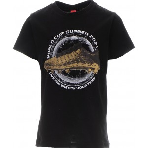 JOYCE ΠΑΙΔΙΚΟ T SHIRT GOLDEN SHOE  211700 BLACK