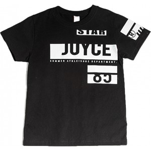JOYCE  T SHIRT ΠΑΙΔΙΚΟ 211782 STAR BLACK