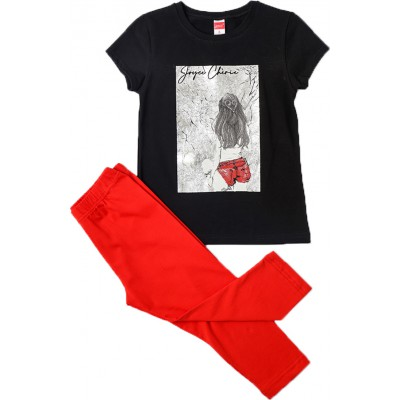 JOYCE ΣΕΤ ΠΑΙΔΙΚΟ ΓΙΑ KΟΡΙΤΣΙ FOIL FRAME 211527 BLACK RED