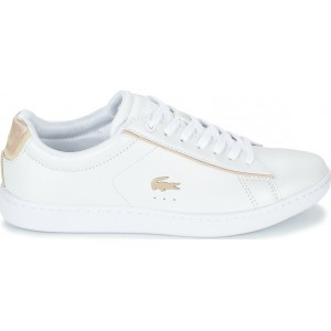 LACOSTE WOMENS SNEAKERS CARNABY EVO 35SPW0013216 ΛΕΥΚΟ