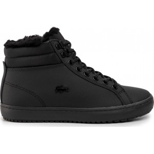 LACOSTE WOMEN'S BOOTS Straight Setthermo BLACK
