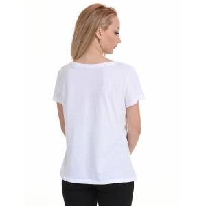 BISTON ΜΠΛΟΥΖΑΚΙ T-SHIRT WHITE 45-106-004