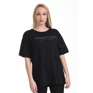 BISTON ΜΠΛΟΥΖΑΚΙ T-SHIRT BLACK 45-106-008