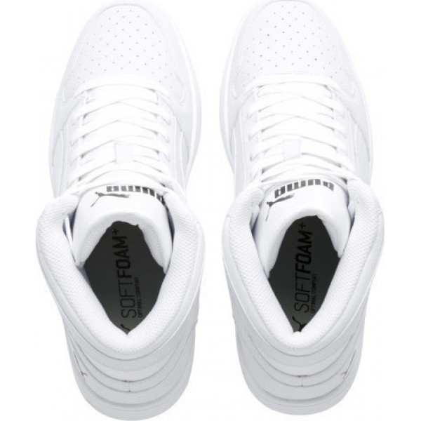 PUMA SNEAKERS REBOUND LAY-UP WHITE 369573-03