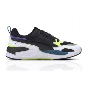 PUMA X-RAY 2-SQUARE UNISEX FOOTWEAR BLACK 373108-01