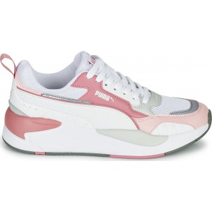 PUMA X-RAY 2-SQUARE WOMEN'S SNEAKERS WHITE- PINK 373108-06