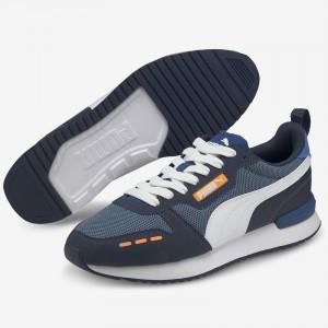 PUMA R78 MEN'S FOOTWEAR BLUE 373117-42 INDIGO