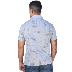 BISTON POLO T-SHIRT GREY 43-206-031